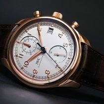 IWC [NEW] Portuguese Chronograph Classic Mens IW390402