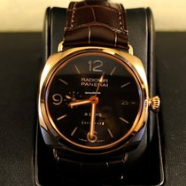 Panerai [SPRING BREAK SPECIAL] PAM 395 Radiomir Rose Gold GMT...