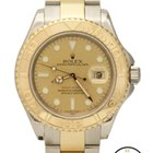 Rolex Yachtmaster Auto 18K/SS Two Tone 40mm 16623 Champagne Watch