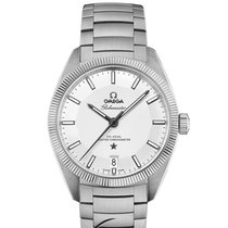 Omega Globemaster  Co-Axial Master Steel Silver Dial 39mm T