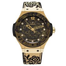 Hublot Big Bang Broderie Yellow Gold 41 mm