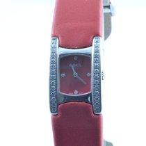 Ebel Beluga Manschette Damen Uhr 25mm Quartz Stahl/stahl...