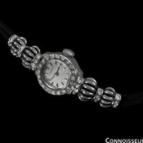 Longines 1952 Vintage Ladies Dress Watch - 14K White Gold...