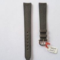 Ebel Lederarmband Sport Lady 15mm grau mit Dornschließe