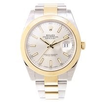 Rolex Datejust Gold And Steel Silver Automatic 126303SV_O