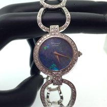 Chopard Vintage Lady Whitegold  Diamonds and opal Dial- Very rare
