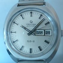 Certina vintage DS-2 automatic all steel day date 38mm case...