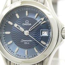 Omega Polished Omega Seamaster 120m Steel Quartz Ladies Watch...