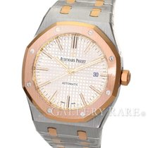 오드마피게 (Audemars Piguet) Royal Oak Pink Gold Bezel Steel 41MM...