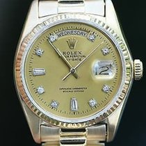 Rolex Mens President 18k Yellow Gold 18038 Sapphire Quick Set...