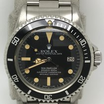 Rolex 1665 Great White Sea Dweller Great Condition Dial