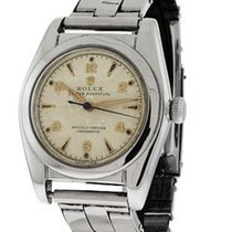 Rolex 1949 Bubbleback Oyster Perpetual - Stainless Steel -...