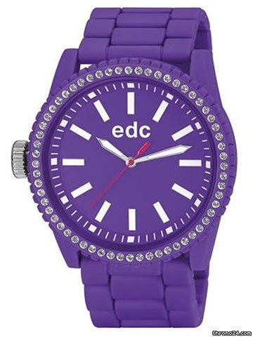 EDC by Esprit EE100752004 Stone Starlet Crazy Purple Damenuhr