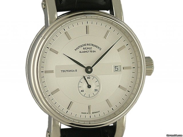 Mhle Glashtte Teutonia II kleine Sekunde Automatic 41mm Neu