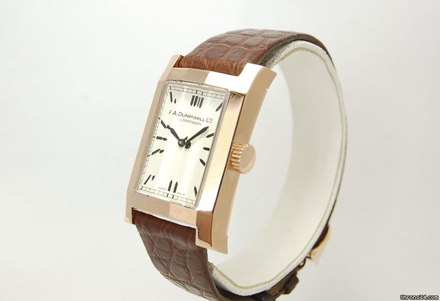 Alfred Dunhill Facet Rose Gold 8059 Limited Edition