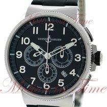 Ulysse Nardin Maxi Marine Chronograph Manufacture 43mm, Black...