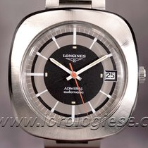 Longines Admiral Automatic Ref. 8581-2 Vintage Steel Watch-...
