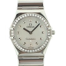 Omega Constellation My Choice Lady Diamanti Quartz art. Om305