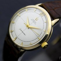 Omega 10k Gold Filled Mens Vintage Swiss Seamaster Automatic...