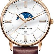 Maurice Lacroix Eliros MOONPHASE EL1108-PVP01-112-1 Herrenarmb...