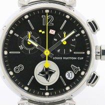 Louis Vuitton Tambour Lovely Cup Diamond Steel Quartz Watch...
