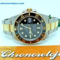 Rolex Submariner Ceramic Steel and Gold