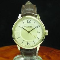 Burberry The Classic Round Gold Mantel Automatic Herrenuhr /...