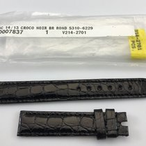 Rolex Replacement Strap Black Alligator Leather 14mm/13mm