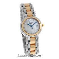 Longines New Lady PrimaLuna L81105876 Diamond 18K SS MOP Quartz