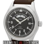 IWC Pilot Collection UTC TZC Stainless Steel Black Dial 39mm...