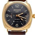 Panerai Radiomir GMT 18k Rose Gold 10 Power Reserve pam00273