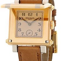 Patek Philippe Gent's 18K Rose Gold and White Gold  Ref. #...