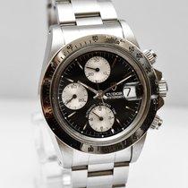 Tudor Oysterdate Stahl Uhr 79180 Papiere Box 1993