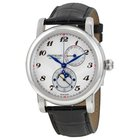 Montblanc Star Twin Moonphase Automatic Silver Dial Black...