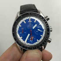 Omega reduced automatico automatic indy cart blue 38 mm