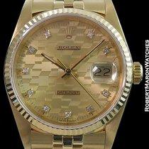 Rolex 16018 Datejust Chevrolet Dial 18k