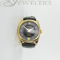 Rolex 18k Rolex Cellini  Yellow Gold  with Black dial