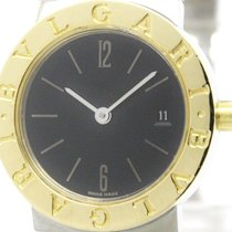 Bulgari Polished  - 18k Gold Steel Ladies Watch Bb26sgd...