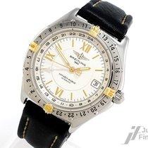 Breitling Antares World Stahl/Gold - 2. Zeitzone - 79,4g
