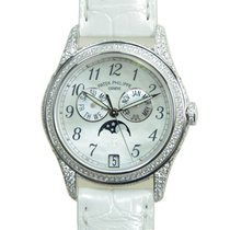 Patek Philippe New  Complications 18k White Gold White...