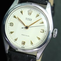 Rolex Oyster Precision Winding  Steel Mens Watch Ref. 4499
