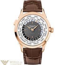 Patek Philippe Complications World Time 38.5mm Rose Gold...