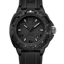Luminox Mens Sentry Black-Out Watch - Black Dial & Strap -...