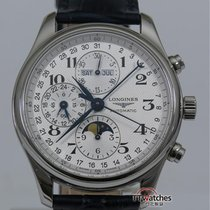 Longines Master Collection Moon Phase Chronograph 42 Mm Box...
