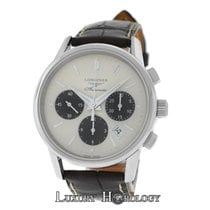 Longines New  Heritage Column-Wheel Chronograph L27494022...