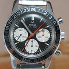 Enicar Jet Graph GMT Chronograph Rare Vintage