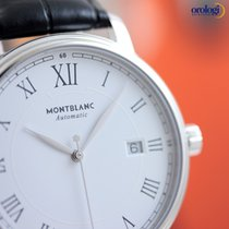Montblanc Men's Tradition Date Automatic 40mm Steel on...