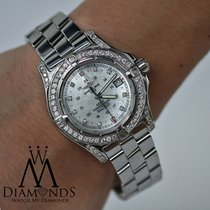 Breitling Colt A74380 Stainless Steel 41.1mm Mother Of Pearl...