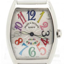 Franck Muller Color Of Dreams Stainless Steel Quartz Watch...