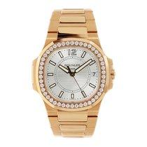 Patek Philippe Nautilus Ladies Rose Gold Watch 32mm with...